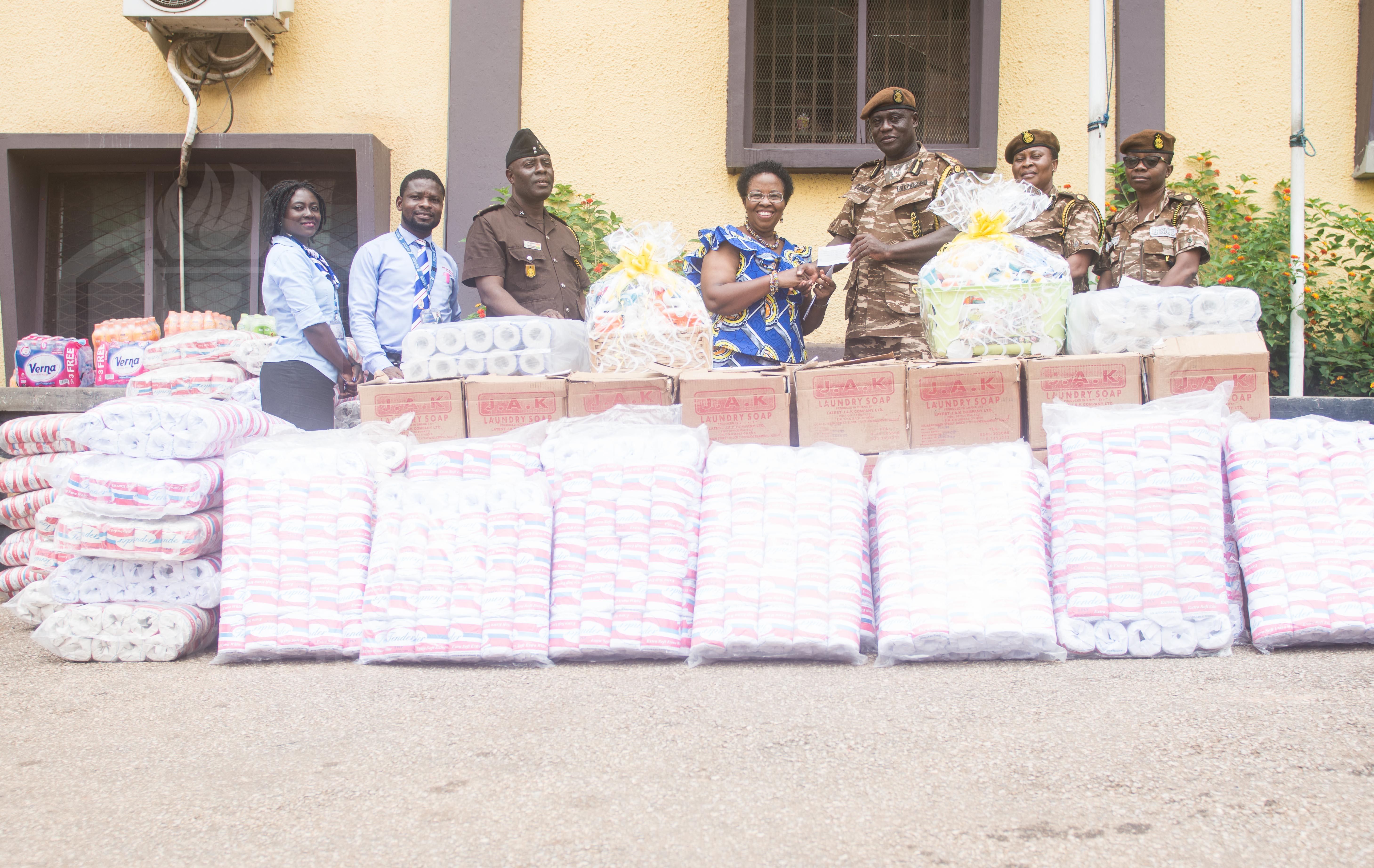 JCE donates to Kumasi Central and Manhyia Prisons   Jackson
