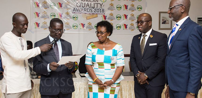 THE JACKSON FOUNDATION WINS AFRICAN QUALITY AWARD