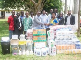 AGOGO PRESBYTERIAN HOSPITAL RECEIVES SUPPORT FROM JCE