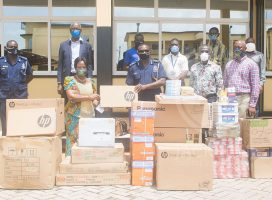 JCE DONATES TO THE POLICE COMMAND AND CENTRAL PRISONS IN KUMASI