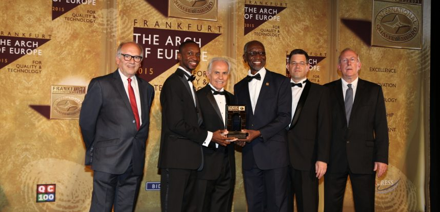 """JEC AWARDED """"INTERNATIONAL ARCH OF EUROPE – 2015"""""""