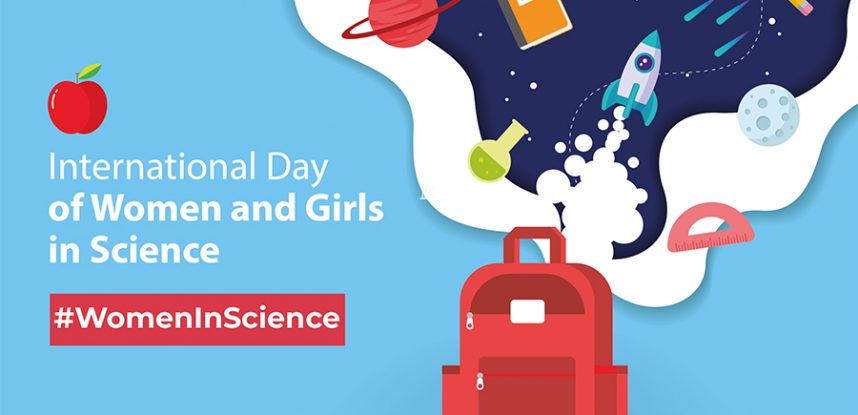 """""""LET'S ENCOURAGE GIRLS TO PURSUE SCIENCE COURSES"""" – MRS JACKSON"""