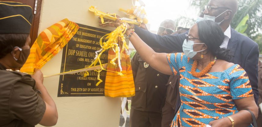 JACKSON COLLEGE OF EDUCATION BUILDS WASHROOMS FOR KUMASI CENTRAL FEMALE PRISON