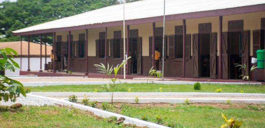 JEC HANDS OVER REFURBISHED CLASSROOM BLOCK TO AMANKWATIA M/A SCHOOL