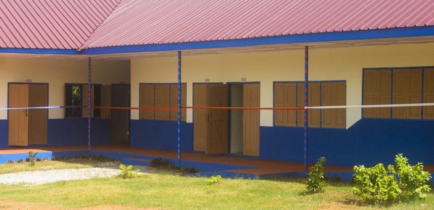 JACKSON EDUCATIONAL COMPLEX CONSTRUCTS NEW CLASSROOM BLOCK FOR DANYAME-KWAEM