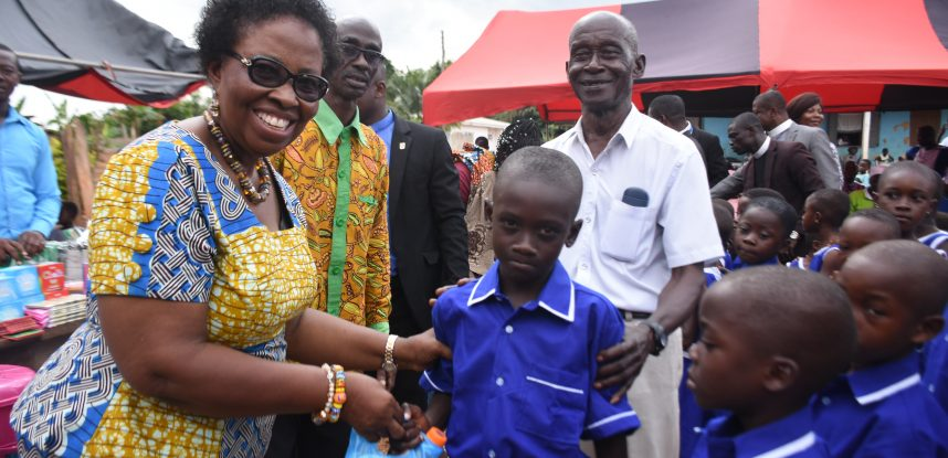 JCE TOUCHES LIVES AT DANYAME-KWAYEMU IN THE ASHANTI REGION
