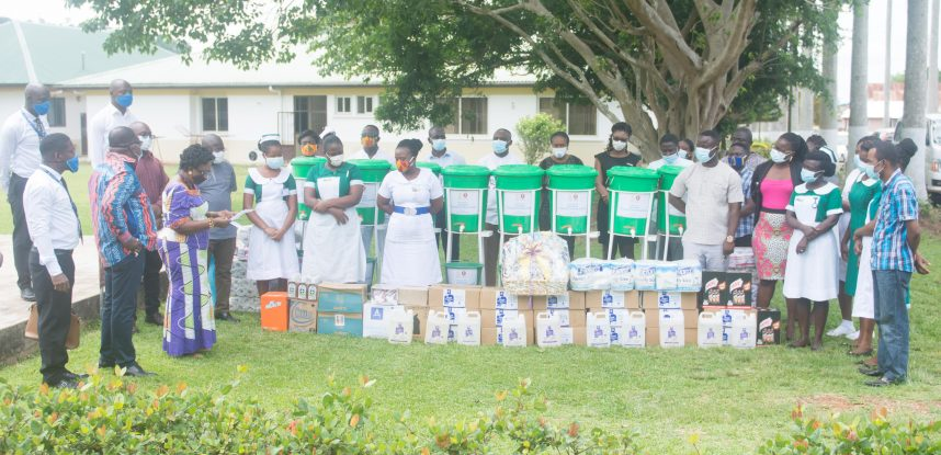 AGOGO PRESBYTERIAN HOSPITAL AND APCE RECEIVE SUPPORT FROM JCE