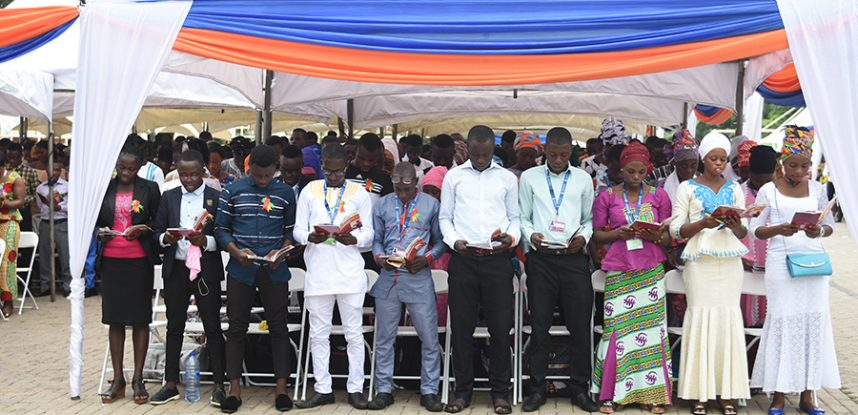 JCE MATRICULATES FRESHMEN FOR THE 2017/2018 ACADEMIC YEAR