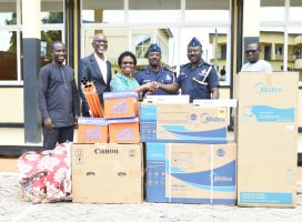 JCE MAKES MASSIVE DONATION TO ASHANTI REGIONAL POLICE COMMAND