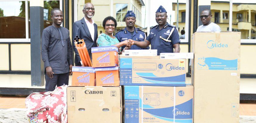 JCE MAKES MASSIVE DONATION TO ASHANTI REGIONAL POLICE COMMAND