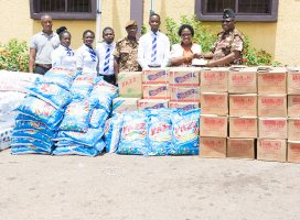 JACKSON COLLEGE OF EDUCATION DONATES TO KUMASI CENTRAL PRISON