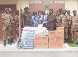 JCE DONATES TO KUMASI CENTRAL AND MANHYIA PRISONS