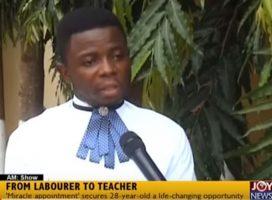 IMPACT OF THE DEEN FOUNDATION – FROM A LABOURER TO A TEACHER
